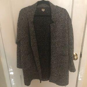 Urban outfitters Uniq sweater coat medium